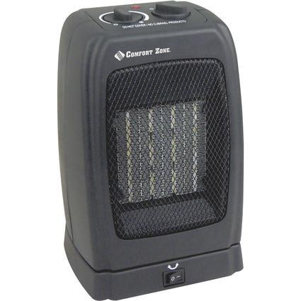 Comfort Zone Oscillating Ceramic Heater