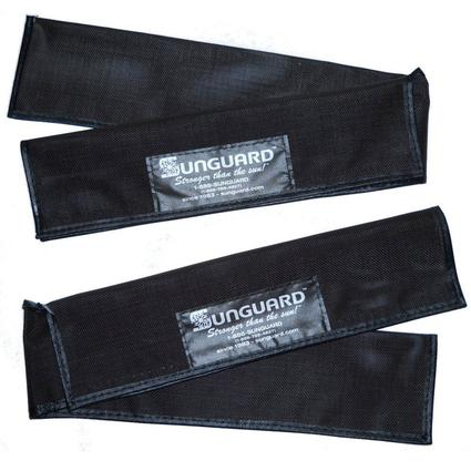 Sunguard Wiper Savers, 2-Pack - Brown