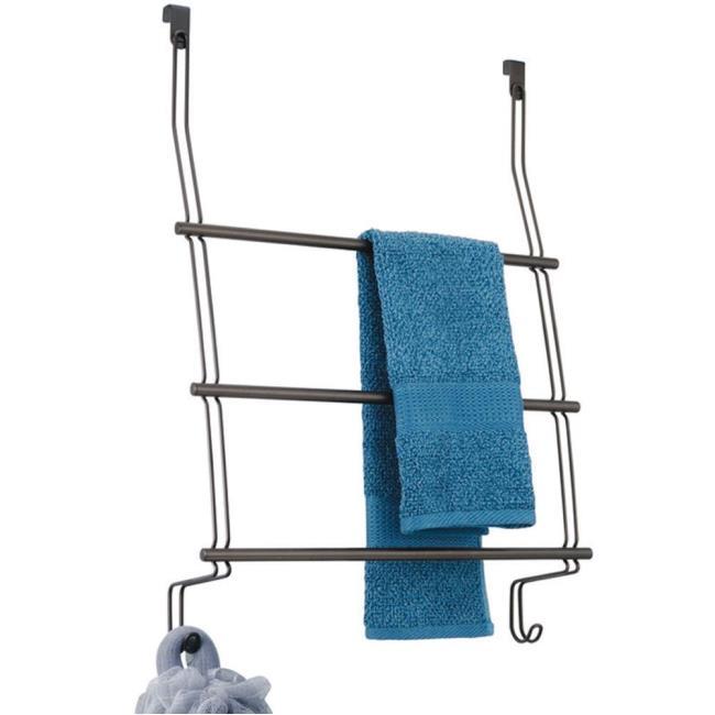Image Over Door 3 Bar Towel Rack   Bronze. To Enlarge The Image, Click .