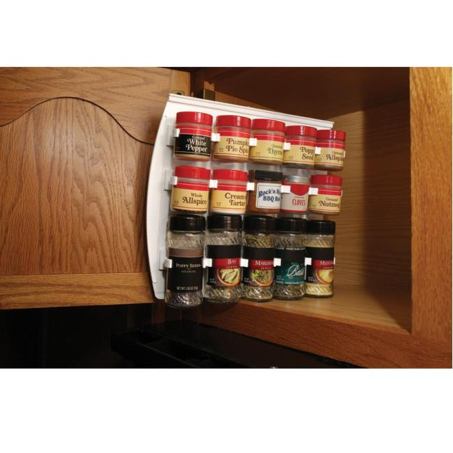 Image Large Sliding Cabinet Spice Rack. To Enlarge the image click or press Enter .  sc 1 st  C&ing World & Large Sliding Cabinet Spice Rack - Sensible Designs Online Inc SDO ...