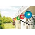 10 Multicolor Globe Lights with 50 Cord