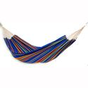 Single Brazilian Barbados Hammock, Blue Sky