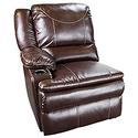Marquee Right Arm Reclining Sofa, Jaleco Chocolate