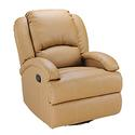 Swivel Glider Recliner, Brookwood Tobacco