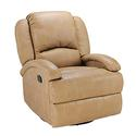 Swivel Glider Recliner, Beckham Tan