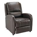 Push Back Recliner, Chocolate