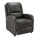 Push Back Recliner, Beckham Walnut