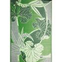Blossom Green Gray Reversible Patio Mat, 9' x 12'