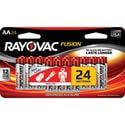 Rayovac Fusion AA Batteries, 24 Pack