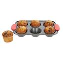 Silicone Handle Muffin Pan