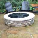 Round Fire Pit Cover, 48