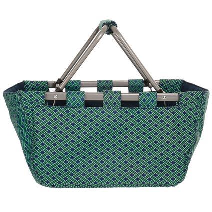 Basket Weave Folding Basket