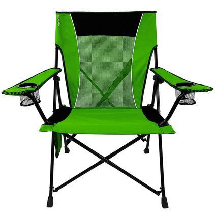 Dual Lock Chair, Green