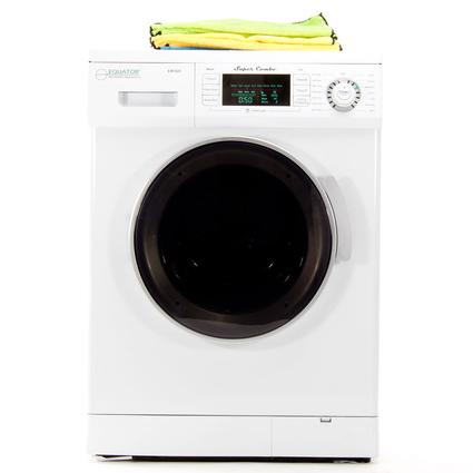 Equator Super Combo White Washer and Dryer, Venting/Ventless Optional