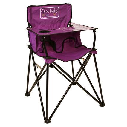 Baby Go-Anywhere-Highchair, Purple