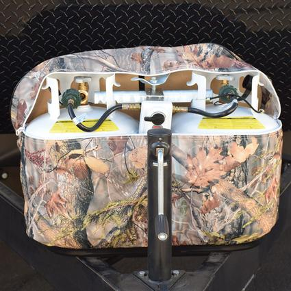20 lb. Double, Oaks Camouflage Propane Tank Cover