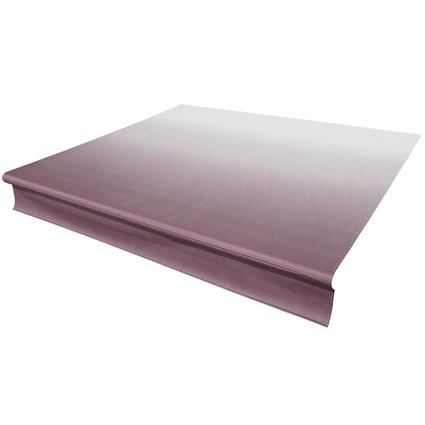 Solera Replacement Awning Fabric - Burgandy Fade with White Weather Guard, 21'