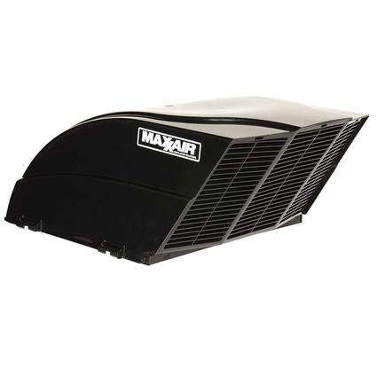 Black MaxxAir FanMate EZClip Vent Cover