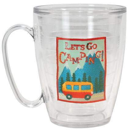 Let's Go Camping Tervis Mug, 16 oz.