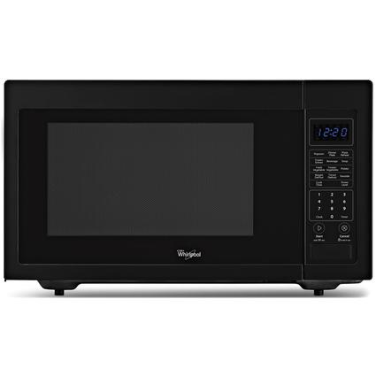 Black Microwave Oven, 1.6 Cubic Feet