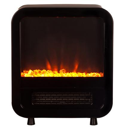 Skyline Electric Fireplace Stove, Black