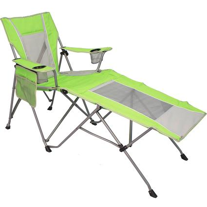 Dual Lock Wave Lounger, Lime Green