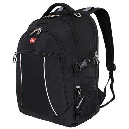 Black SwissGear Bungee Backpack