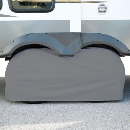 Elements Gray Double Tire Cover, 27