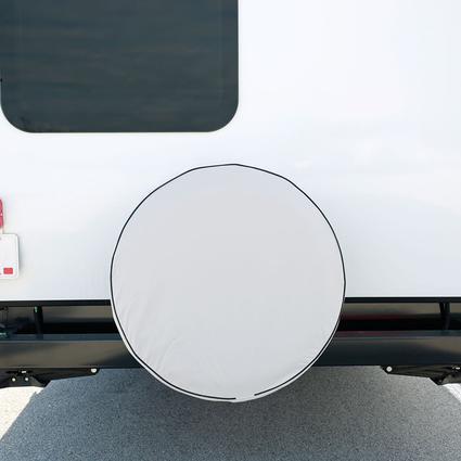Elements White Spare Tire Cover, 27