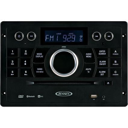 Jensen JWM6A AM/FM/DVD/USB/HDMI/App-Ready Stereo