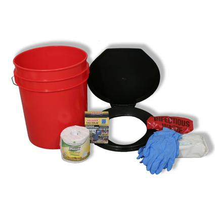 Toilet Bucket Kit