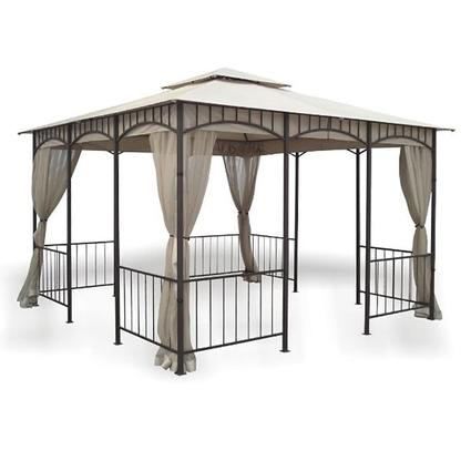 Savannah Gazebo with Insect Screen & Grommets