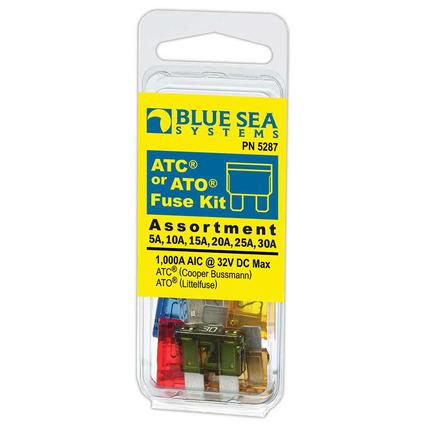 ATC or ATO Fuse Kit 6 piece