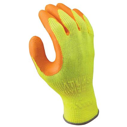 Hi-Viz Grip Gloves, Large