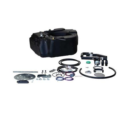 Titan Spare Tire Auxiliary Fuel System, For 2013-2016 Dodge 2500 3500 Pickups with Cummins Engine