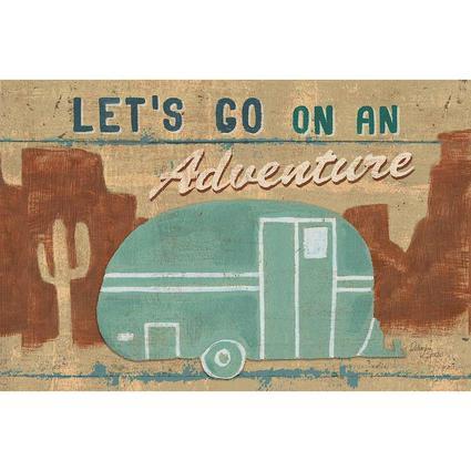 Reversible Placemats, Let's Go Adventure