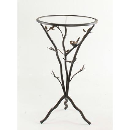 Bird Table with Removable Glass Top