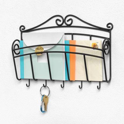 Wall Mount Single Letter Holder Key Rack