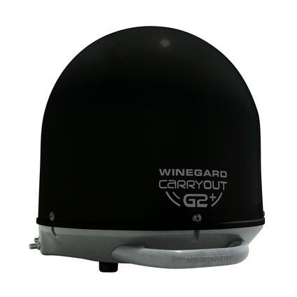 Winegard Carryout G2 Plus Portable Satellite Antenna, Black