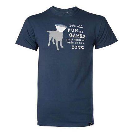 Dog is Good Fun and Games Tee Shirt, XXL