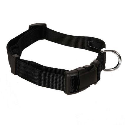 Pet Stuff Pet Collar, Medium, Black