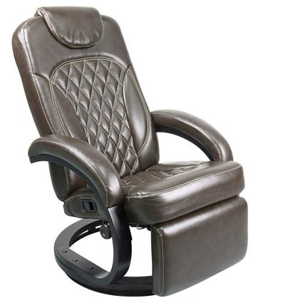 Euro Recliner Chair, Chestnut