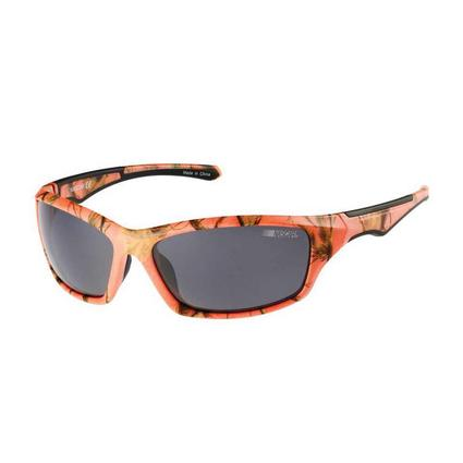 NASCAR Collection Sunglasses, Coral Jungle Frames with Gray Lenses