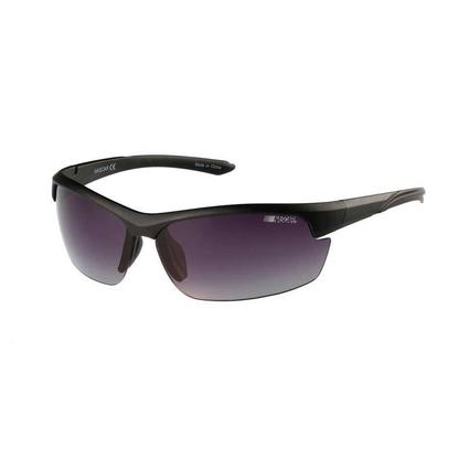 NASCAR Collection Sunglasses, Black Racer Frames with Gray Lenses