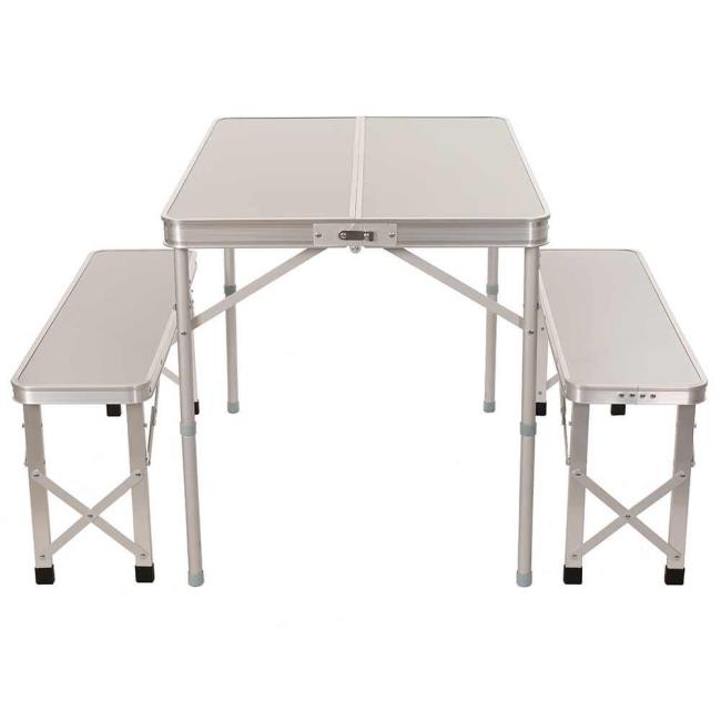 Portable Picnic Table With Benches Direcsource Ltd Picnic - Picnic table hardware kit