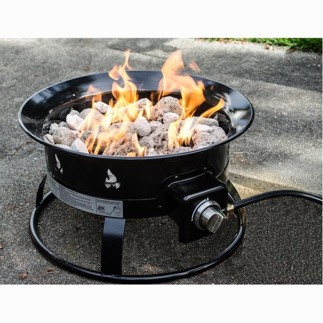 Exceptionnel Image Portable Propane Outdoor Fire Pit. To Enlarge The Image, Click Or  Press Enter .