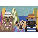 Multi-color Beach Patrol Rug, 24