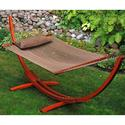 Arc Stand and Caribbean Hammock with Pillow, 12'