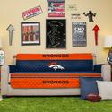 NFL Broncos Sofa Cover