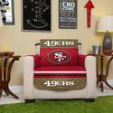 NFL 49ers Chair Cover